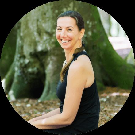 Yoga teacher Angela Keen portrait